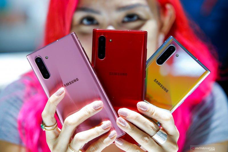 Model terbaru Samsung Galaxy Note 10 dan Note 10 +