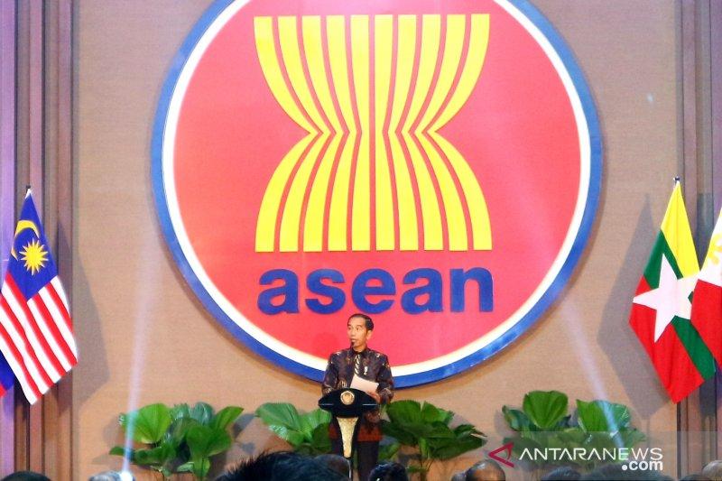 Presiden resmikan gedung baru ASEAN