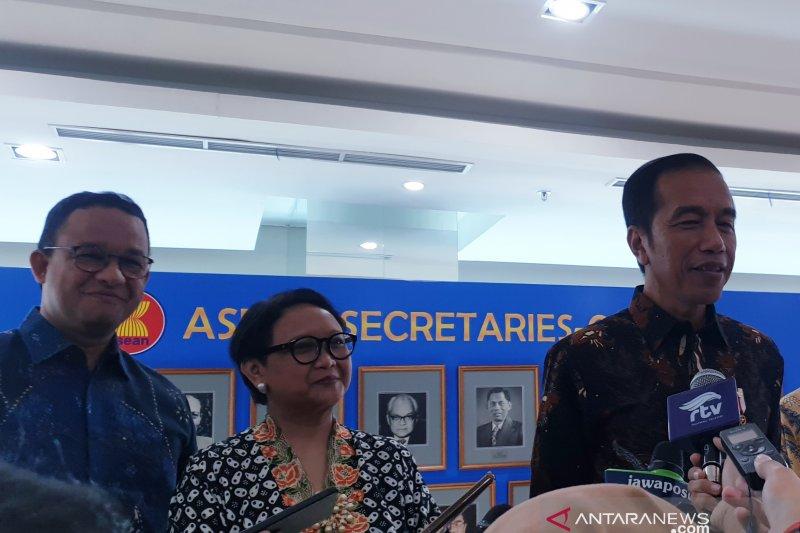 Presiden Jokowi dorong DKI Jakarta beri insentif kendaraan elektrik