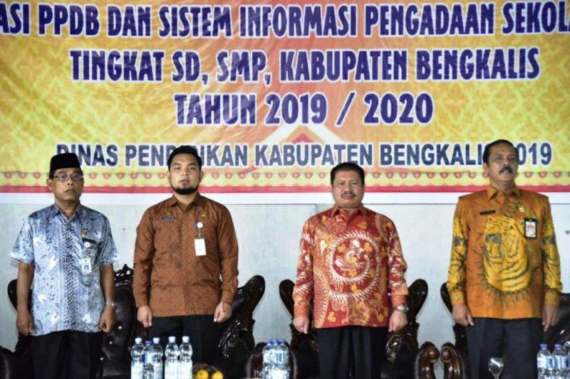 Zonasi PPDB  untuk pemerataan mutu pendidikan di Bengkalis