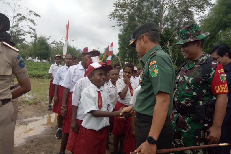 Untuk bangun daerah terpencil, TNI siap dilibatkan