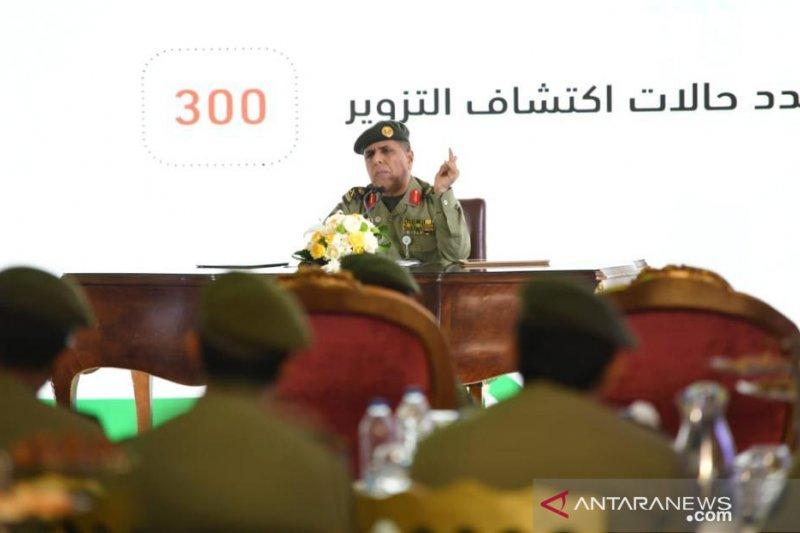 1,8 juta lebih jamaah haji internasional tiba di Saudi
