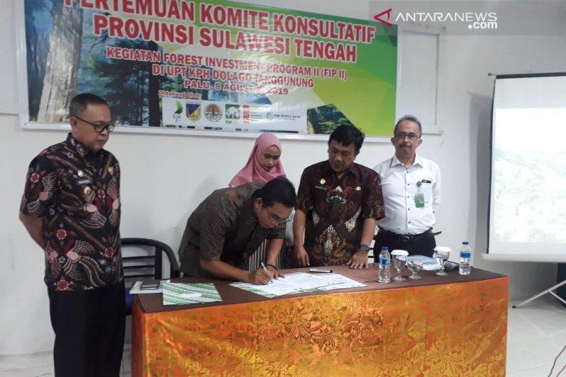 KPH Dolago Tanggunung-industri rotan pasarkan HHBK Sulteng