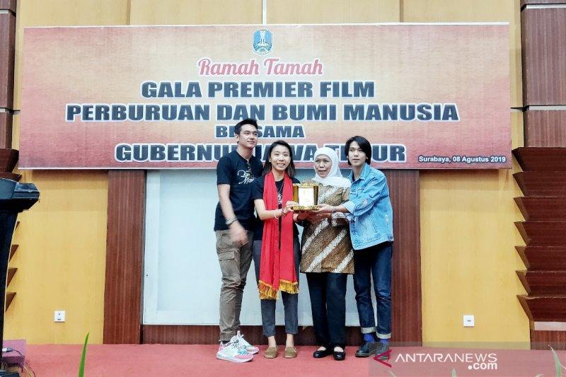 """Khofifah komentari film """"Bumi Manusia"""" di Surabaya"""