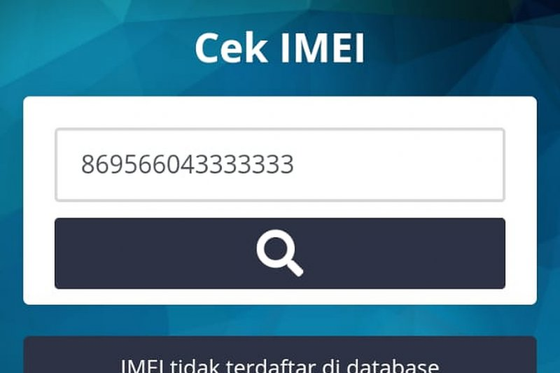 Kominfo pastikan aturan IMEI belum ditandatangani pada 17 Agustus