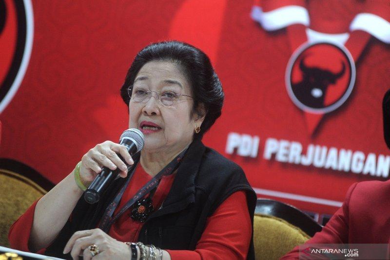 Megawati bicara wacana menteri muda kabinet Jokowi