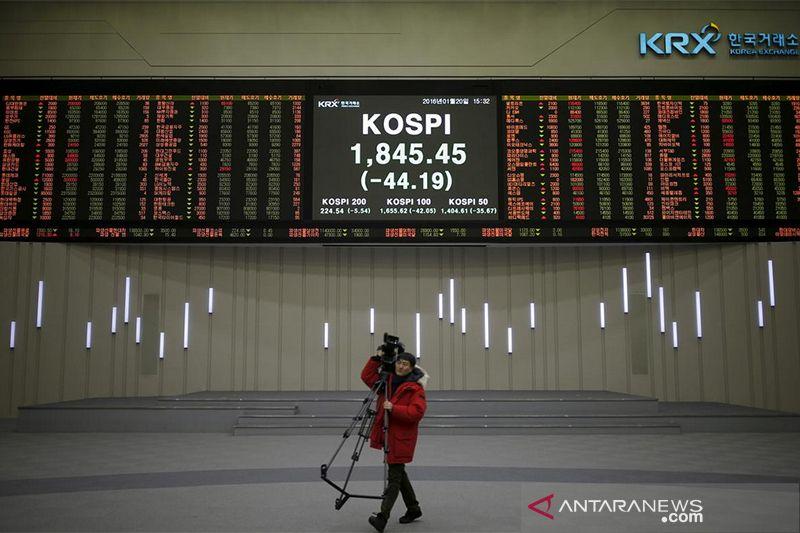 Bursa saham Seoul turun