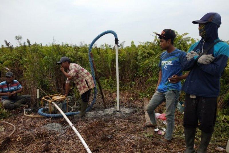 BRG bangun 50 sumur bor di lahan gambut Tanjung Jabung Timur