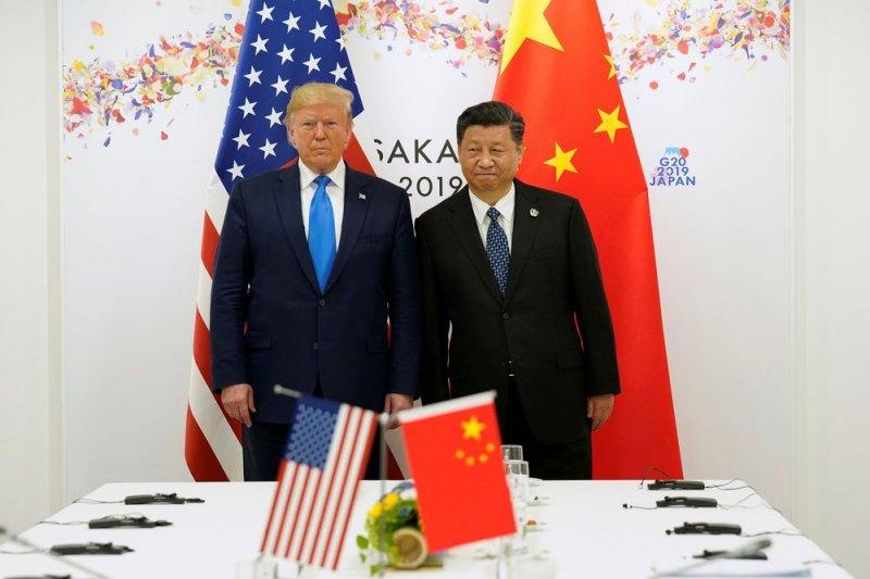 "Trump sebut China 'bunuh"" AS dengan kesepakatan perdagangan taki adil"