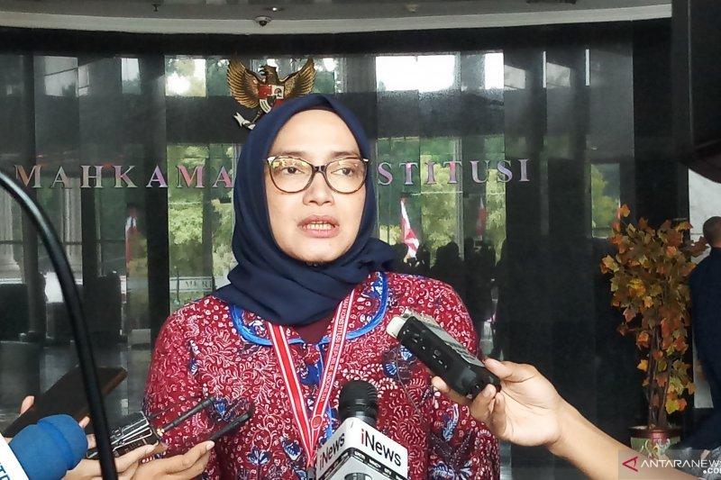 Sidang Pileg, KPU: lebih dari 90 persen perkara ditolak MK