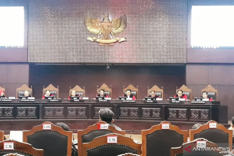Sidang Pileg, gugatan tiga caleg DPD dari Papua tak dikabulkan