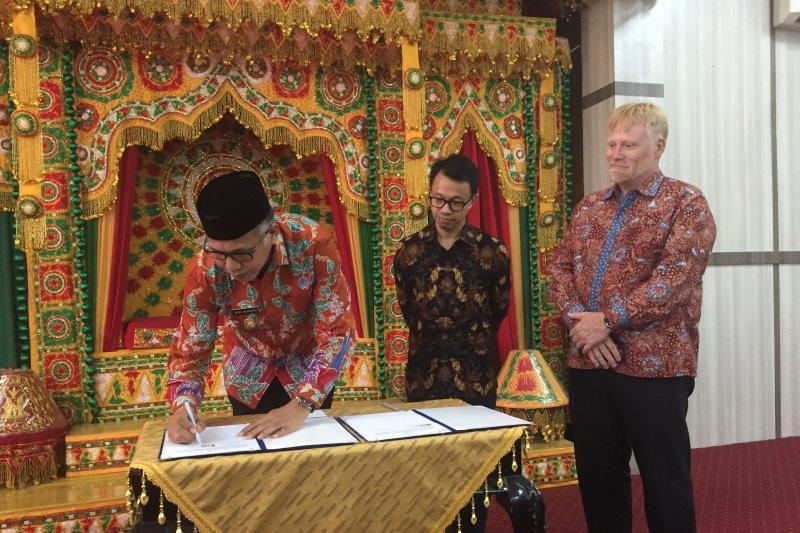 Pemerintah Aceh-YIDH tandatangani MoU tentang komoditas hijau