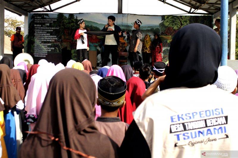 Ekspedisi Destana Tsunami BNPB jangkau 512 desa di pesisir Selatan Jawa