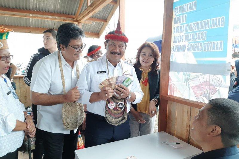 BI Papua sosialisasikan pencegahan uang palsu kepada pengunjung FBLB