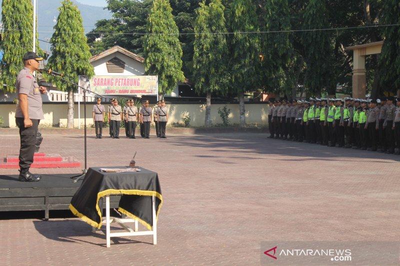 Kapolres Palu minta pejabat baru dilantik bila ragu-ragu mundur