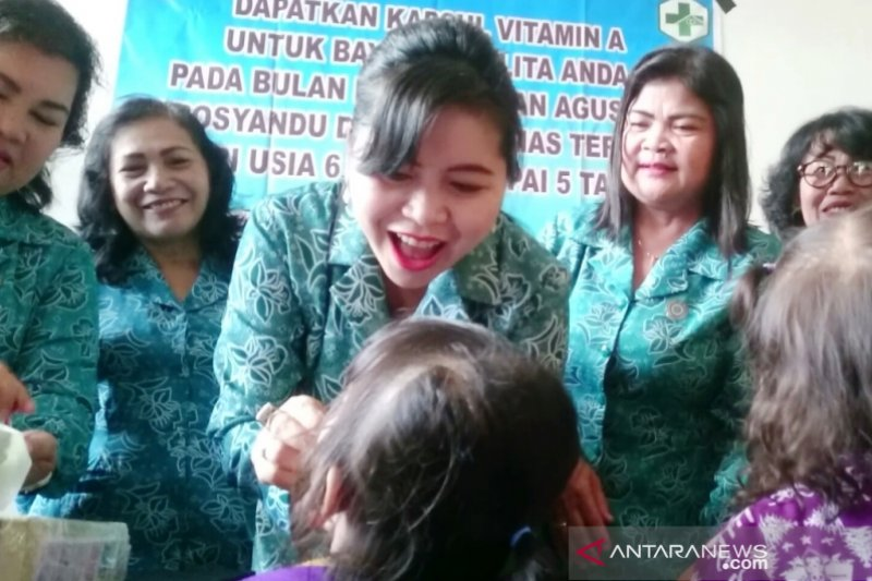 Masuk bulan vitamin A, para ibu diminta bawa anak ke posyandu