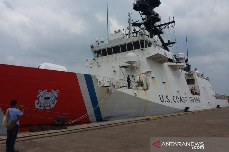 Bakamla latihan bersama US Coast Guard di Batam