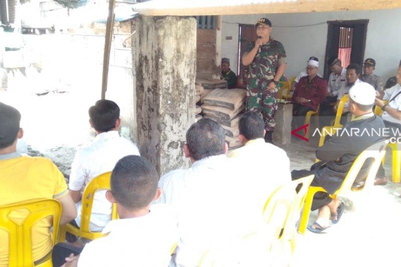 Korem Gapo bedah  rumah masyarakat hasil  dana prajurit