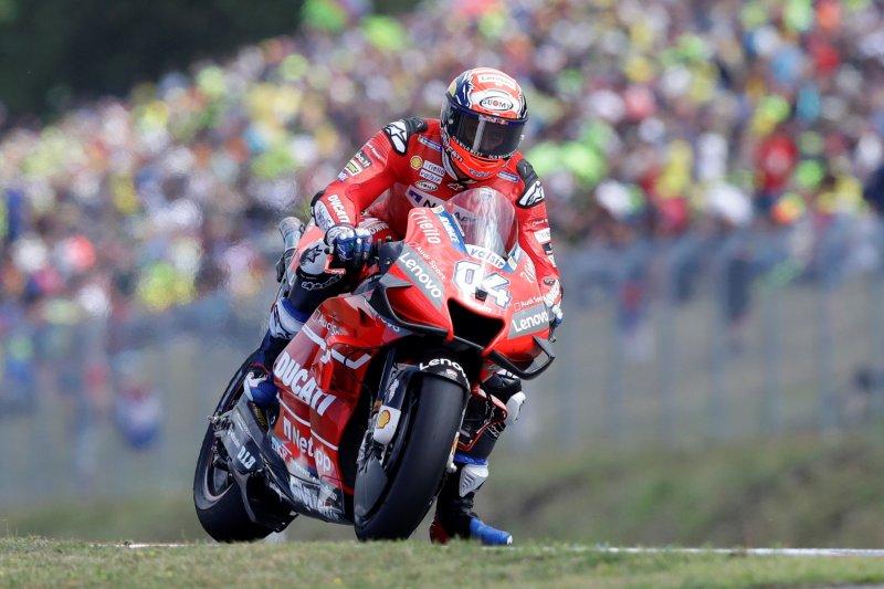 Dovizioso waspadai rivalnya Marquez di GP Austria