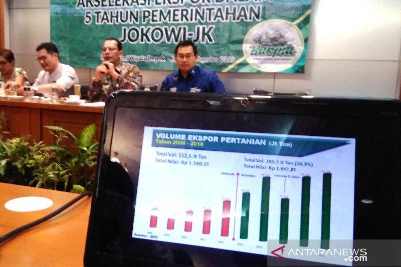Kementan siapkan lima strategi peningkatan ekspor  pertanian