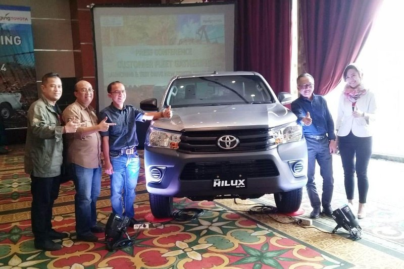 Toyota Astra Motor jual Toyota All New Hilux Single Cabin Rp338,1 juta