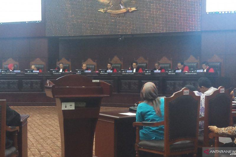 Sidang Pileg, MK tolak gugatan PKB Papua