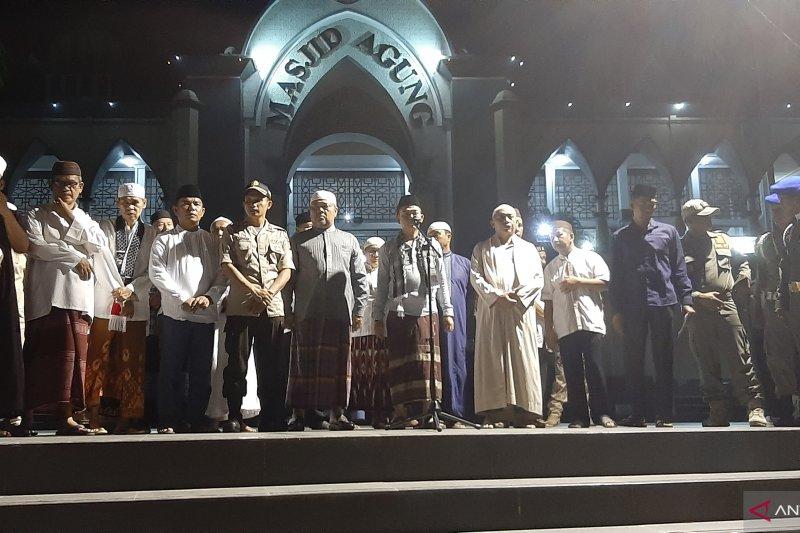 Ratusan kelompok remaja meriahkan pawai takbir di Kabupaten Bangka
