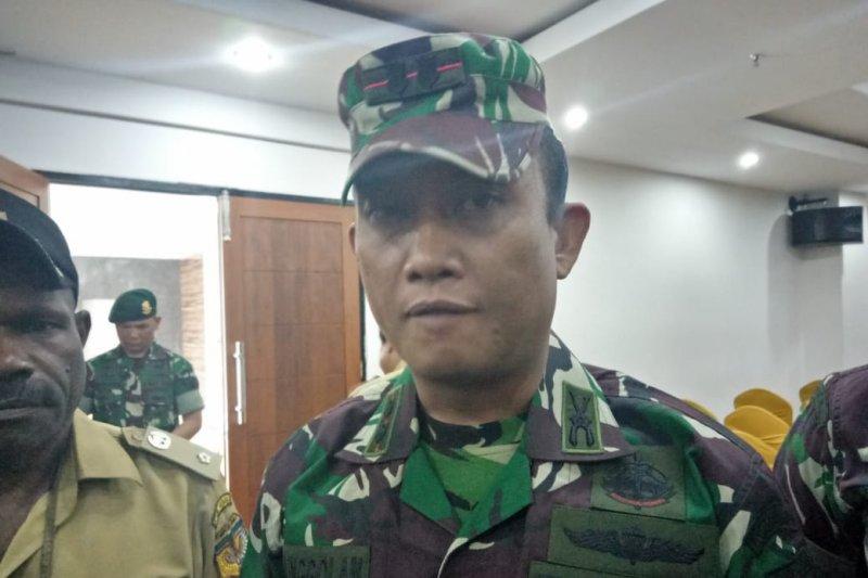 Dandim Mimika: Koramil dan pos rawan tetap terisi pasukan TNI
