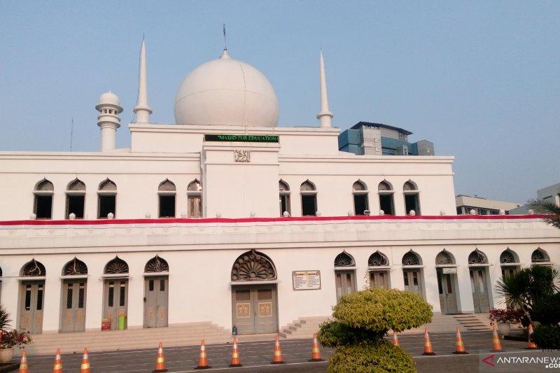 Haedar Nasir isi ceramah shalat Idul Adha di Masjid Agung Al-Azhar