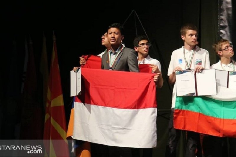 Pelajar Indonesia raih medali perak di olimpiade sains internasional