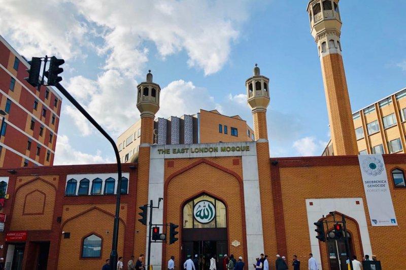 Shalat Hari Raya Haji dari  kota London