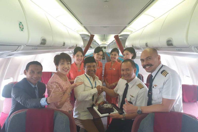 Maskapai Garuda Indonesia tetap layani penumpang pada hari libur