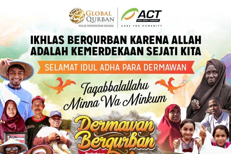 ACT salurkan hewan kurban ke seluruh Indonesia dan dunia