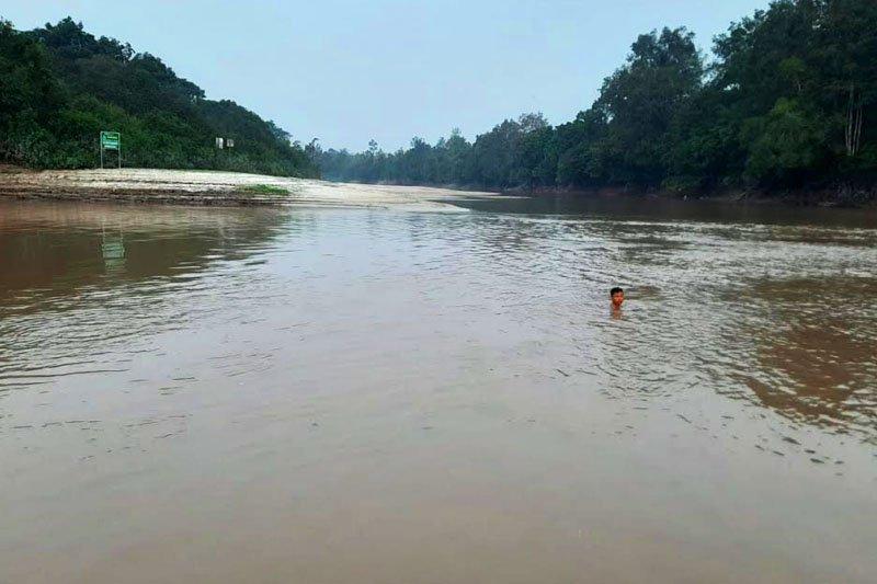 Seorang mahasiswa UGM tenggelam di DAS Rungan