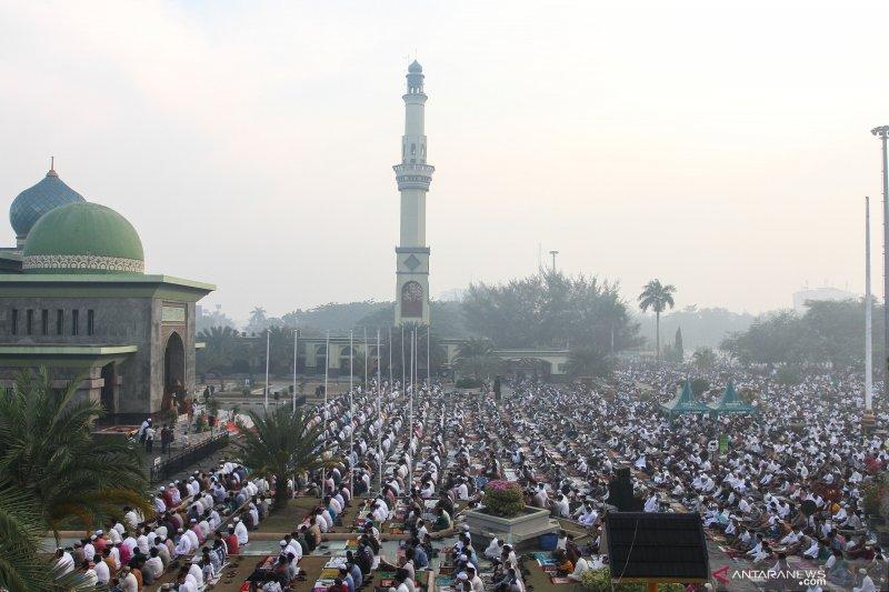Gubernur nilai karhutla di Riau hanya padam oleh hujan, begini penjelasannya