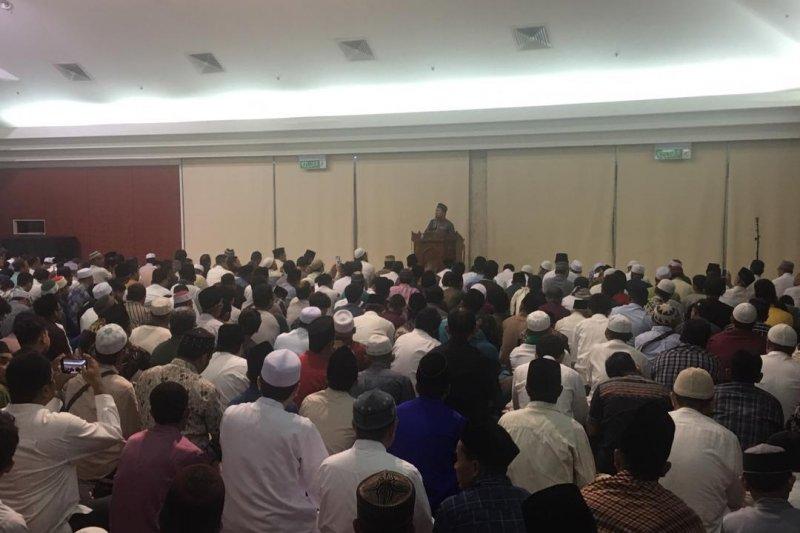 Ratusan warga shalat Idul Adha di KBRI Kuala Lumpur