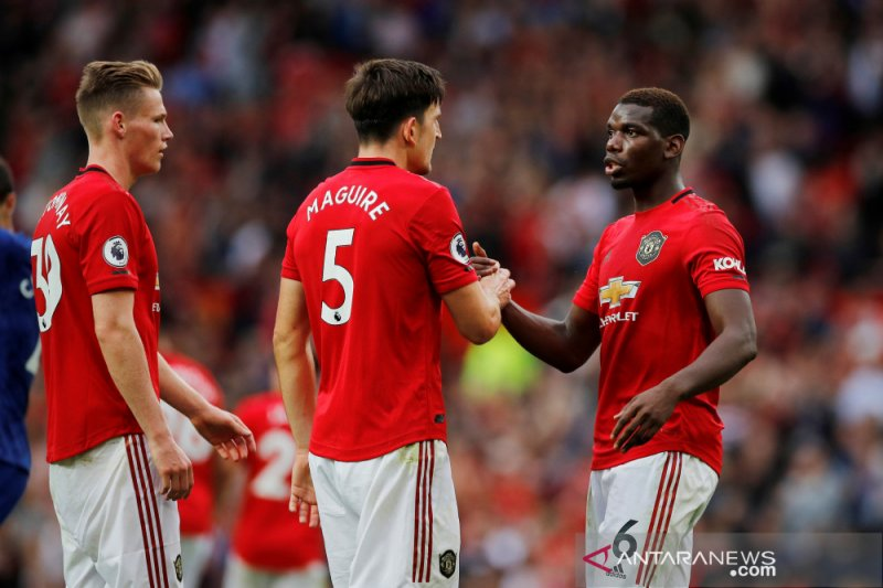 "Pogba beri julukan  Harry Maguire: ""The Beast"""