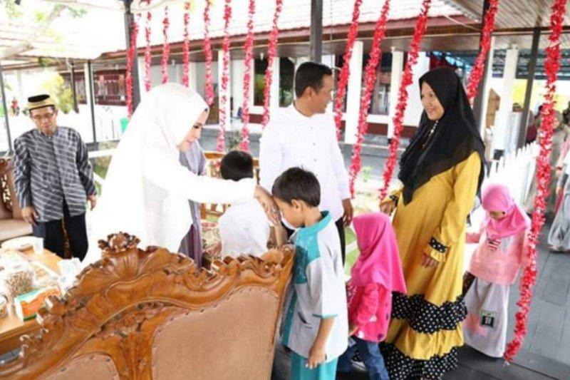 """Pererat silaturahmi bersama masyarakat, Wabup Seruyan gelar """"open house"""" Idul Adha"""