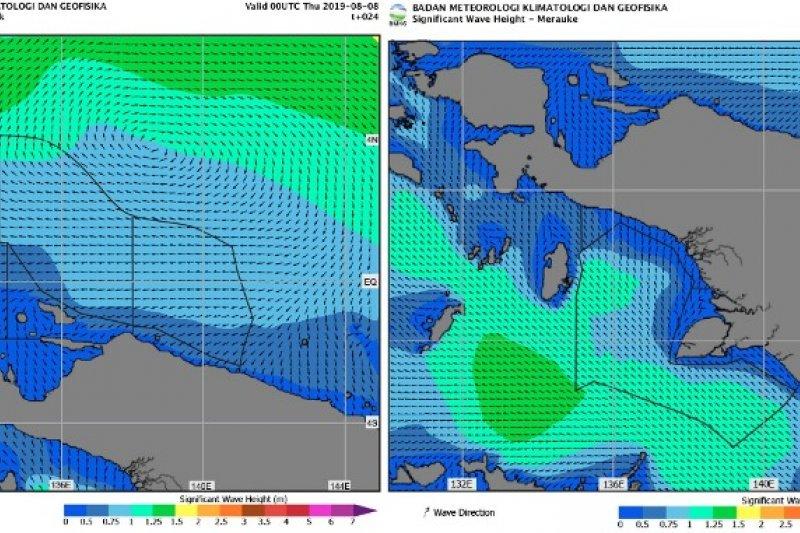 Perairan Papua Barat-Papua berpotensi angin kencang, sebut BBMKG