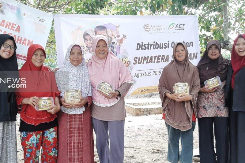 ACT Sumsel distribusikan paket kurban  ke lima wilayah pelosok