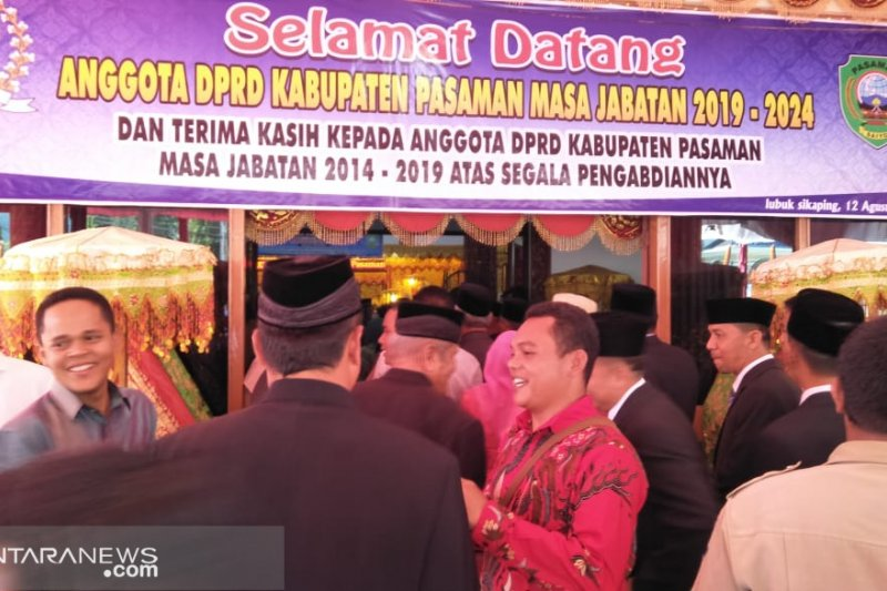Ini harapan masyarakat Pasaman kepada legislator baru dilantik