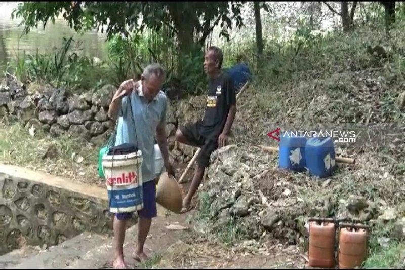 Peternak Gunung Kidul mulai menjual hewan ternak untuk beli air