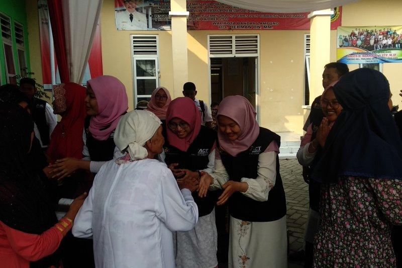 ACT Lampung salurkan 600 paket daging kurban ke 4 lokasi
