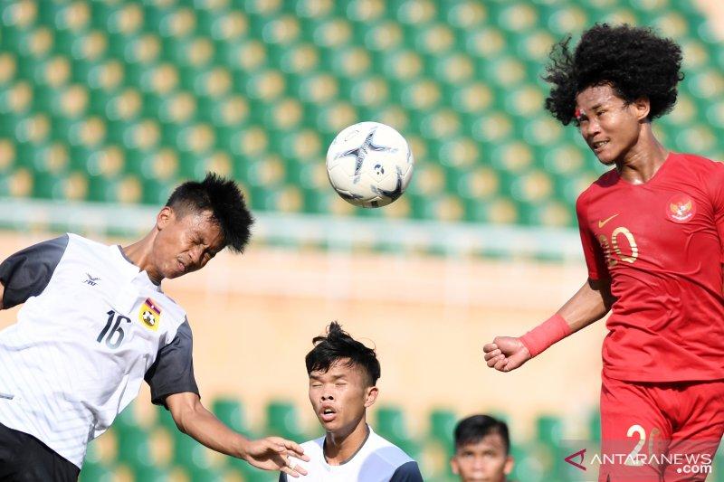 Gol bunuh diri Laos sumbang kemenangan Timnas U-18 Indonesia