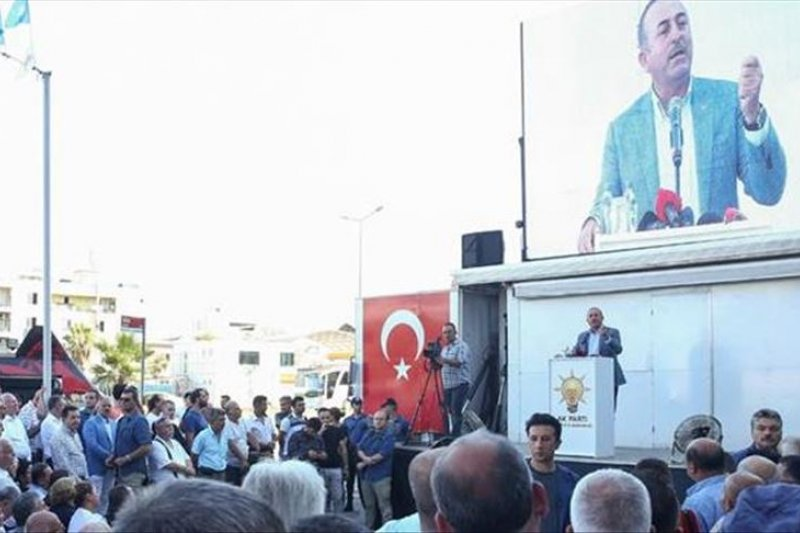 Menlu: Turki akan bersihkan anggota YPG/PKK dari timur Eufrat