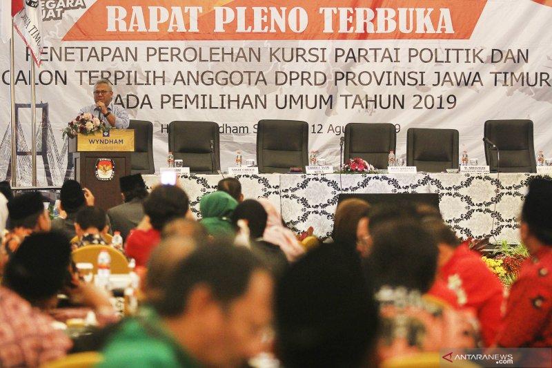 Penetapan perolehan kursi partai politik