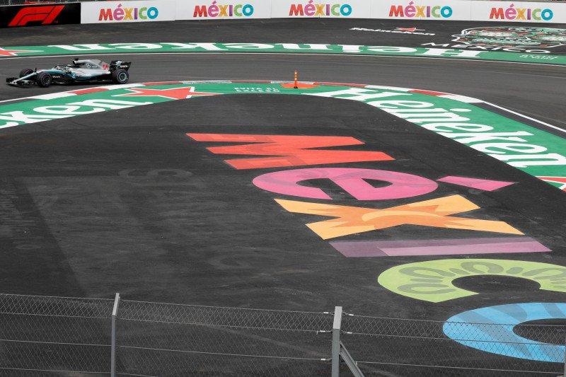 Statistik Grand Prix Formula 1 Meksiko