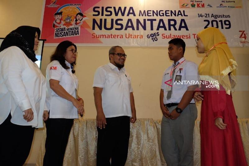 Pertukaran pelajar Sumut-Sulteng melalui Program SMN 2019