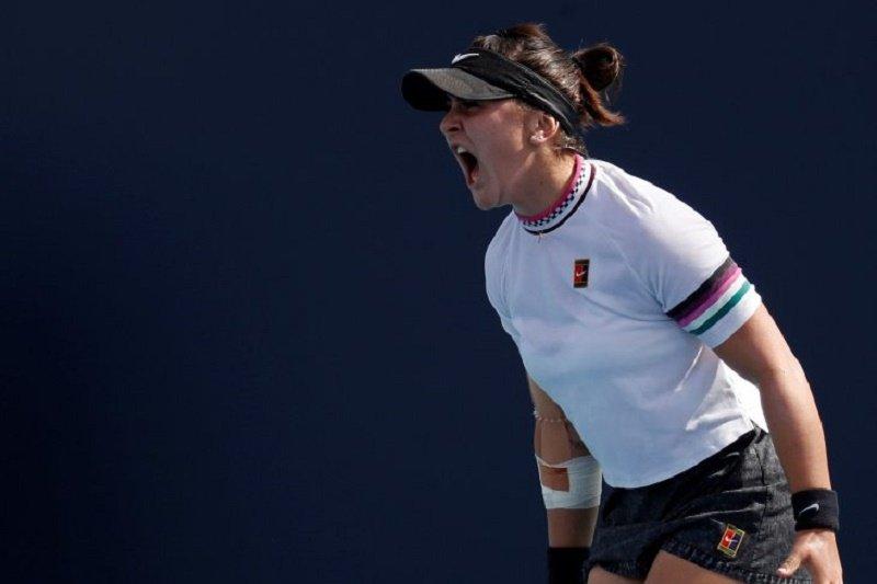 Karena kejang punggung, Andreescu mundur dari WTA Cincinnati