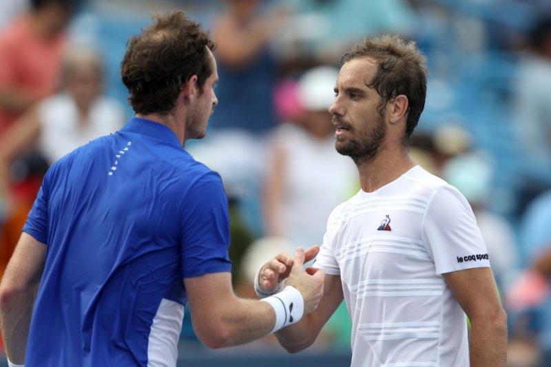 Kembali bermain di nomor tunggal, Murray tumbang di tangan Gasquet